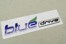 1Pcs Best Blue Drive ABS Plastic Auto Trunk Lid Sticker Badge Emblem Decoration