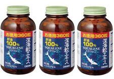 ORIHIRO Deep Sea Shark Extract Capsule 360 tablets x 3pcs from Japan New