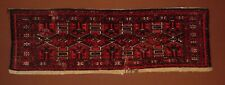 FABULOUS ANTIQUE 1880 TURKOMAN  SARYK  TORBA  with lots of silk***HG****