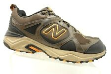 6d98bb43a01bf New Balance 481 V3 Orange Brown Leather Lace Up Hiking Trail Shoes Men's 12  4E