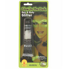 NEW GLOW IN THE DARK HAIR AND BODY GEL Party Supplies