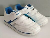 BNWT Older Boys Size 2 Donnay Chester White Hook And Loop Smart Casual Shoe