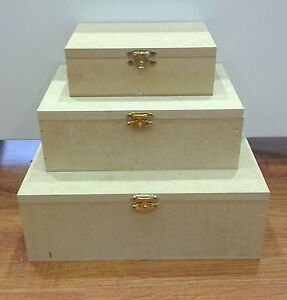 Classic Hinged Wooden Box