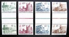 GB 1988 CASTELLI (4) Unmounted MINT verticale grondaia Paia Prezzo di vendita fp2364