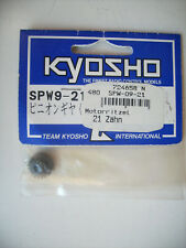 Kyosho SPW-09-21 Motorritzel 21 Zähne Modul 0,5 Bohrung 5 mm