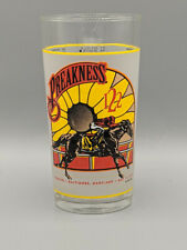 1997 Preakness Stakes 122th Pimlico Souvenir Glass Triple Crown Horse Racing