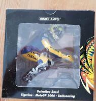 Minichamps Valentino Rossi - Riding Figurine German Moto GP 2006 1/12 Scale