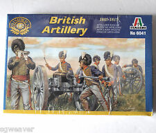 6041 British Artillery 1:72 Model Solders & Parts 1805-1815 New Sealed