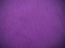 VIOLET veiling morbido tulle WEDDING / BRIDAL DRESS Fabric 280cm Wide venduti per M