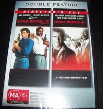 Lethal Weapon 3 & 4 (Mel Gibson Danny Glover)(Australia Region 4) DVD – New