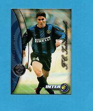 INTER CARDS 2000- numero 16- JAVIER ZANETTI -NEW