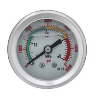 400bar/6000psi PCP Hydraulic Air Pump Pressure Gauge With M10 Fixed Copper