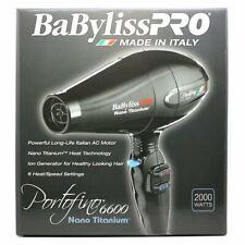 BABYLISS PRO NANO TITANIUM PORTOFINO 6600 HAIR DRYER BNT6610