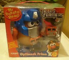 Mr.Potato Head Señor Potato Transformers Optimus Optimash Prime Playskool