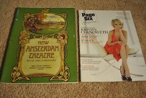 Pair of Rare Kristin Chenoweth Items