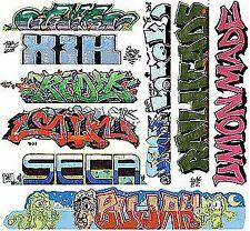BLAIR LINE HO SCALE GRAFFITI DECAL MEGA #11 (9) | BN | 2260