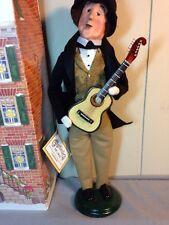 Byer's Choice CAROLERS ~~ C. F.  MARTIN {American Guitar Legend} ~~ IN BOX!