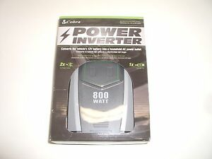 COBRA CPI890 800W CONTINUOUS 1600W SURGE 12VDC BATTERY AC POWER INVERTER