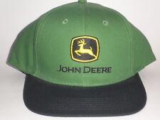 "NEW John Deere Snapback Hat Green OSFA ($25) Cap ""Nothing Runs Like A"" Tractor"