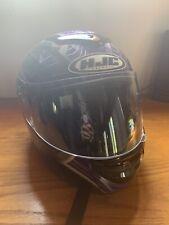 HJC Women's Full Face Street Bike Cruiser Ladies Motorcycle Helmet