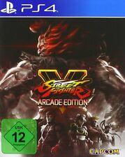 Ps4-Street Fighter V-Arcade Edition - (nuevo con embalaje original)