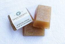 African Green Clay & Cucumber Handmade Natural Soap Bar - Kairos Originals