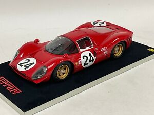 1/18 Ferrari 330 P4 Car #24 Second in 1967 24 Hours of Daytona  n AB / BBR / MR