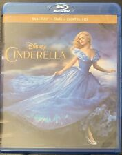 Cinderella (Blu-ray/DVD, 2015) Disney