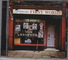 Viva Brother - Famous First Words (2011). CD Album.