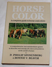 Horse Color by D. Phillip Sponenberg, Bonnie V. Beaver