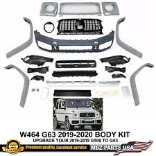 2019 2020 G63 STYLE AMG BODY KIT BUMPER GRILLE FACELIFT UPGRADE W464 G500 G550