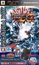 PSP Phantasy Star Portable 2 Infinity Premium Box Japan Game Japanese