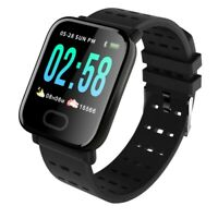 A6 Smart Band Intelligent Heart Rate Monitor Fitness Tracker Smart Bracelet Y9R2