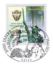 BRD 2009: Varusschlacht! Selbstklebende Nr. 2741 mit Bonner Maxi-Set-Stempel! 1A