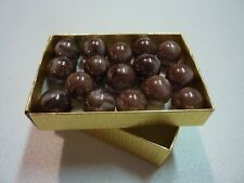 """MARBLES 5//8/"""" or CHOCOLATE SWIRLS CHAMPION MARBLES $2.59 PER POUND"""