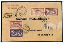 Z26 French Colonies Lebanon 1924 Alexandria  Cover {samwells-covers}