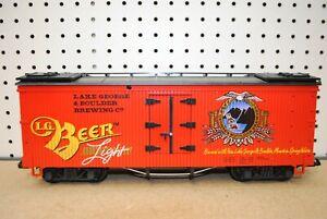 LGB 4472 Lake George & Boulder Brewing Co. Beer Reefer Car *G-Scale*