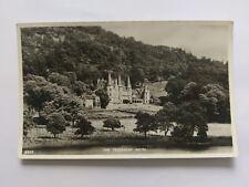 The Trossachs Hotel Vintage B&W Postcard 1960
