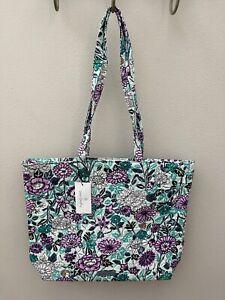 Vera Bradley Essential Tote Bag in Penelope's Garden - NWT - MSRP $59