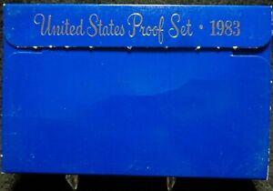 1983-S U.S. Mint Proof Set With Original Box