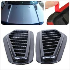2xCar Decorative Air Flow Intake Scoop Turbo Bonnet Vent Cover Hood Fender
