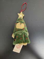 *Rare* Boyds Mini Plush Ornament Peeker Bear - Lil Frasier