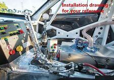 Freno a mano idraulico EPMAN Alluminio CNC Nero,NEO-Chrome,Cromato Drift Rally