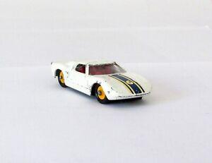 Vintage Matchbox Lesney #41 Ford GT Racing Car Regular Wheel 1965