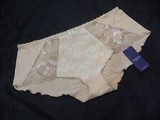 Fantasie 'Vivienne' shorts,nude & cream, XL, polyamide, BNWT
