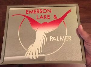 Vintage ELP Carnival Mirror—Emerson, Lake & Palmer Mirror—Never Used