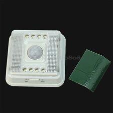 Auto 8 LED Luz PIR Sensor Infrarrojo Inalámbrica Detector Movimiento Lámpara