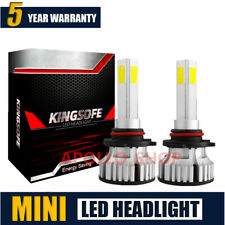 Mini 4-Sides 9005 9145 HB3 LED Headlight Kit 200W 20000LM Hi-Lo Beam Bulbs au