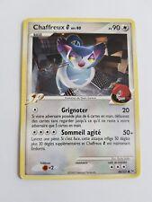 Carte pokémon CHAFFREUX 88/127 commune Platine Set de Base