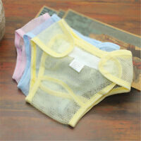 Infant Baby Diapers Reusable Nappies Cloth Diaper Washable Mesh Pocket NappyA-L